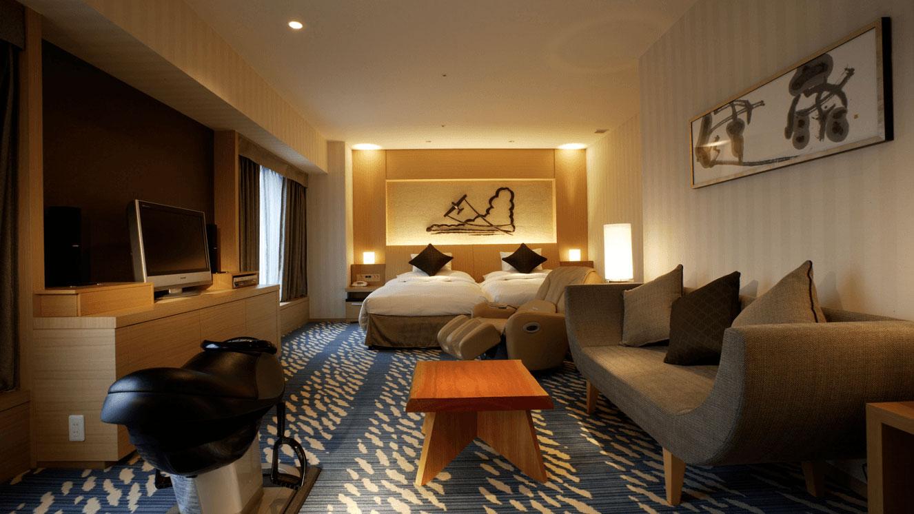 リーガロイヤルホテル(大阪)空フロア・テーマ光と影 デラックスツイン