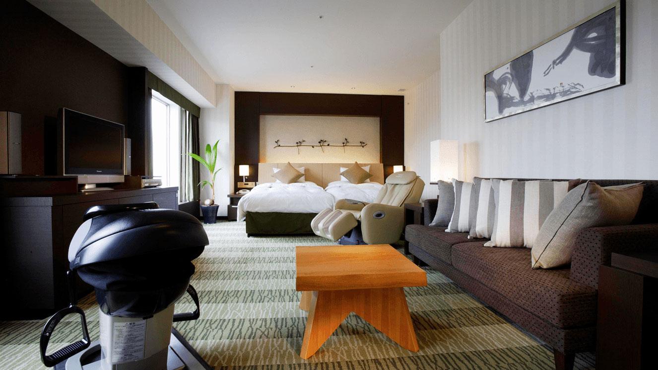 リーガロイヤルホテル(大阪)森フロア・テーマ光と影 デラックスツイン
