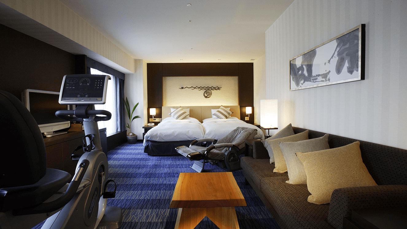 リーガロイヤルホテル(大阪)海フロア・テーマ光と影 デラックスツイン