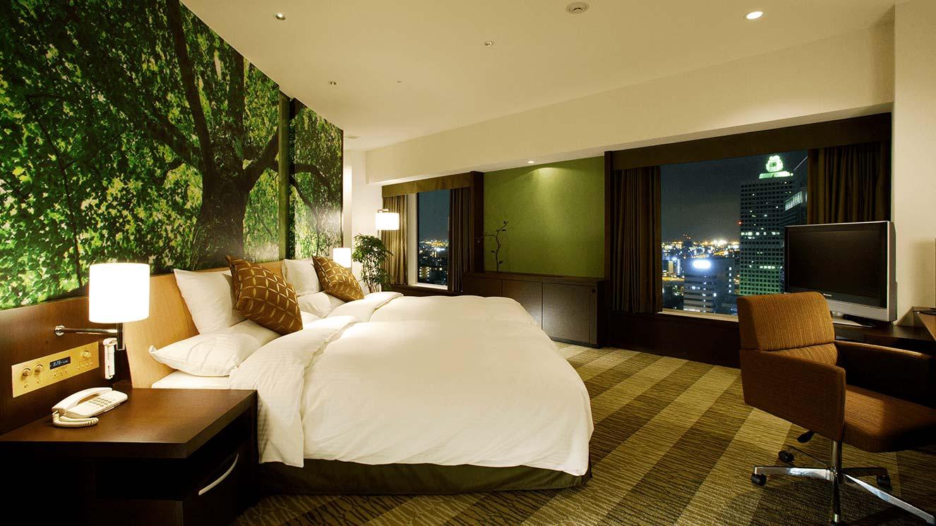 リーガロイヤルホテル(大阪)森フロア・テーマ森 スイート