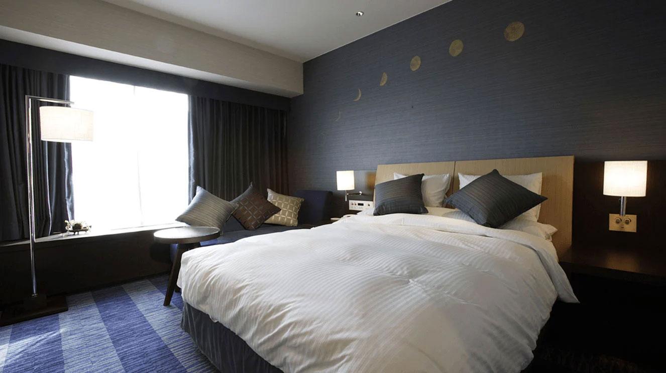 リーガロイヤルホテル(大阪)海フロア・テーマ月 ダブル
