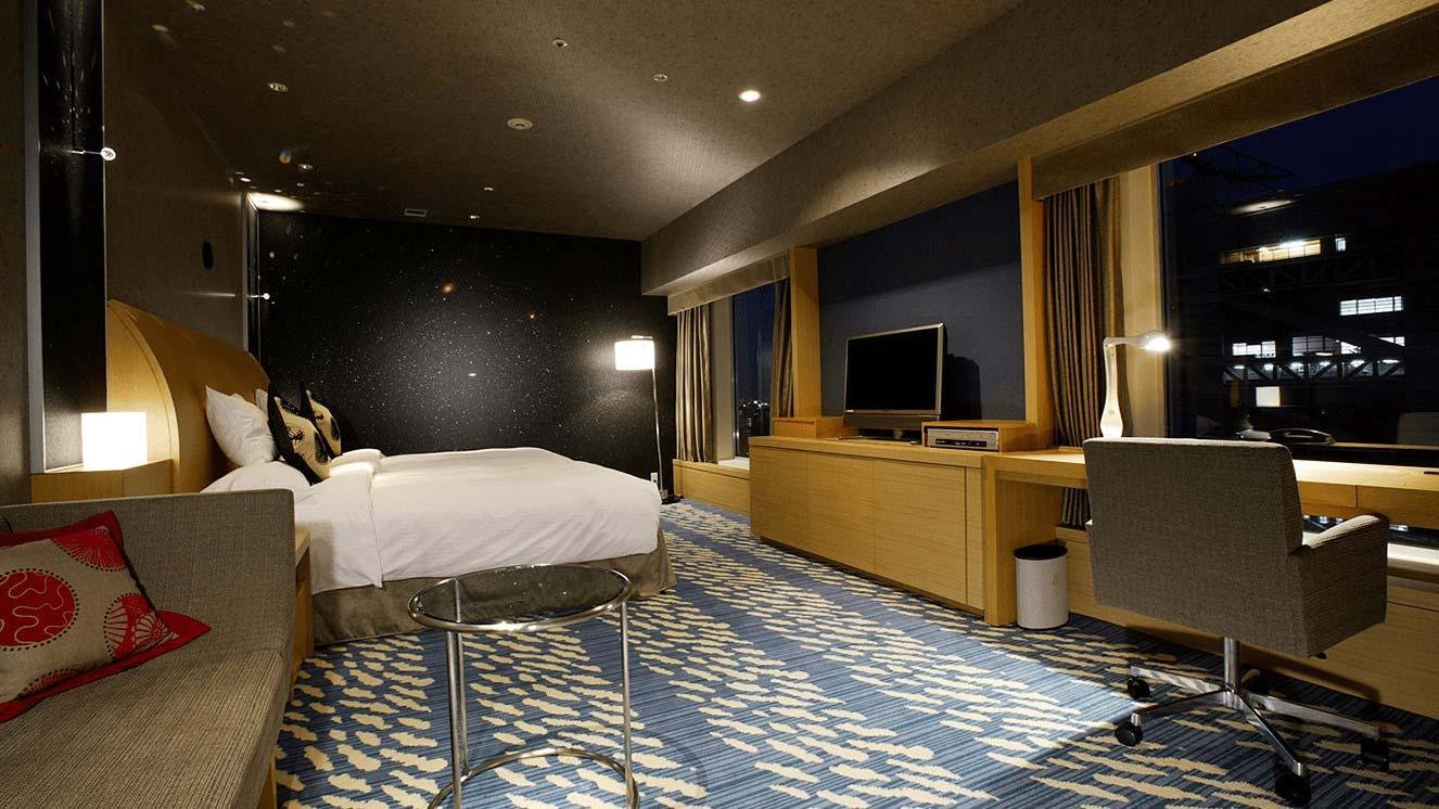 リーガロイヤルホテル(大阪)空フロア・テーマ宇宙 デラックスツイン