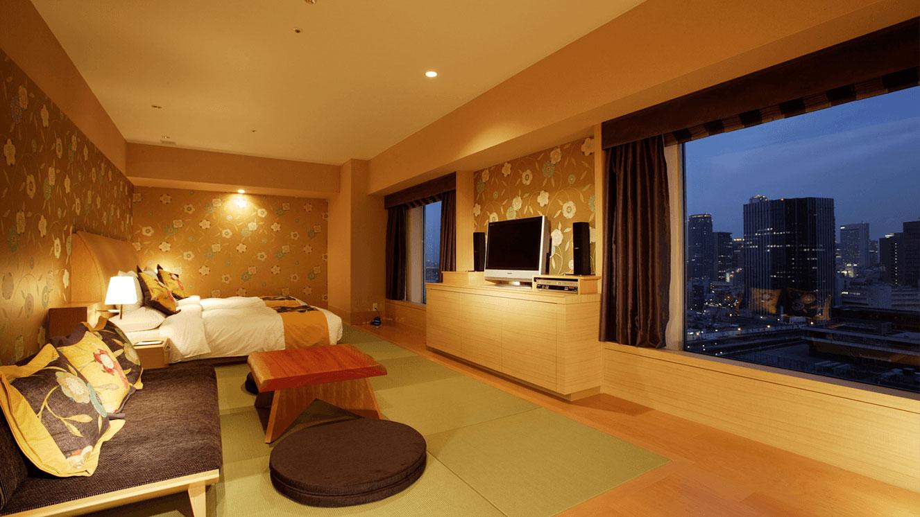 リーガロイヤルホテル(大阪)花フロア・テーマ梅 スイート
