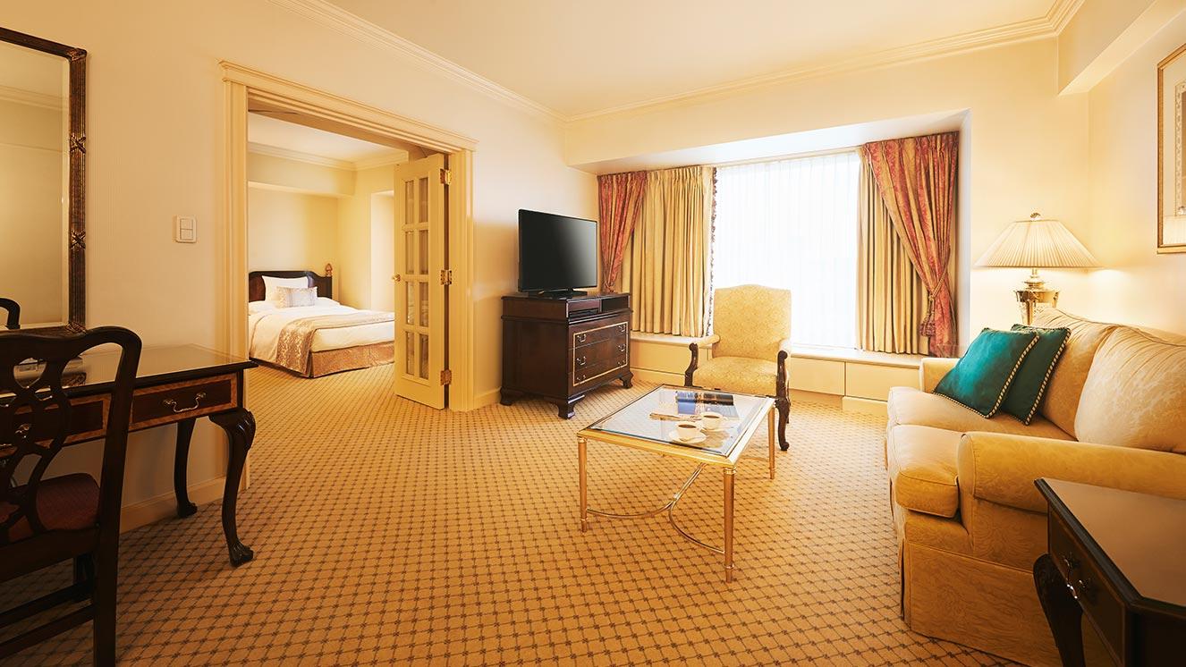 リーガロイヤルホテル(大阪)のヨーロピアンクラシック スイート