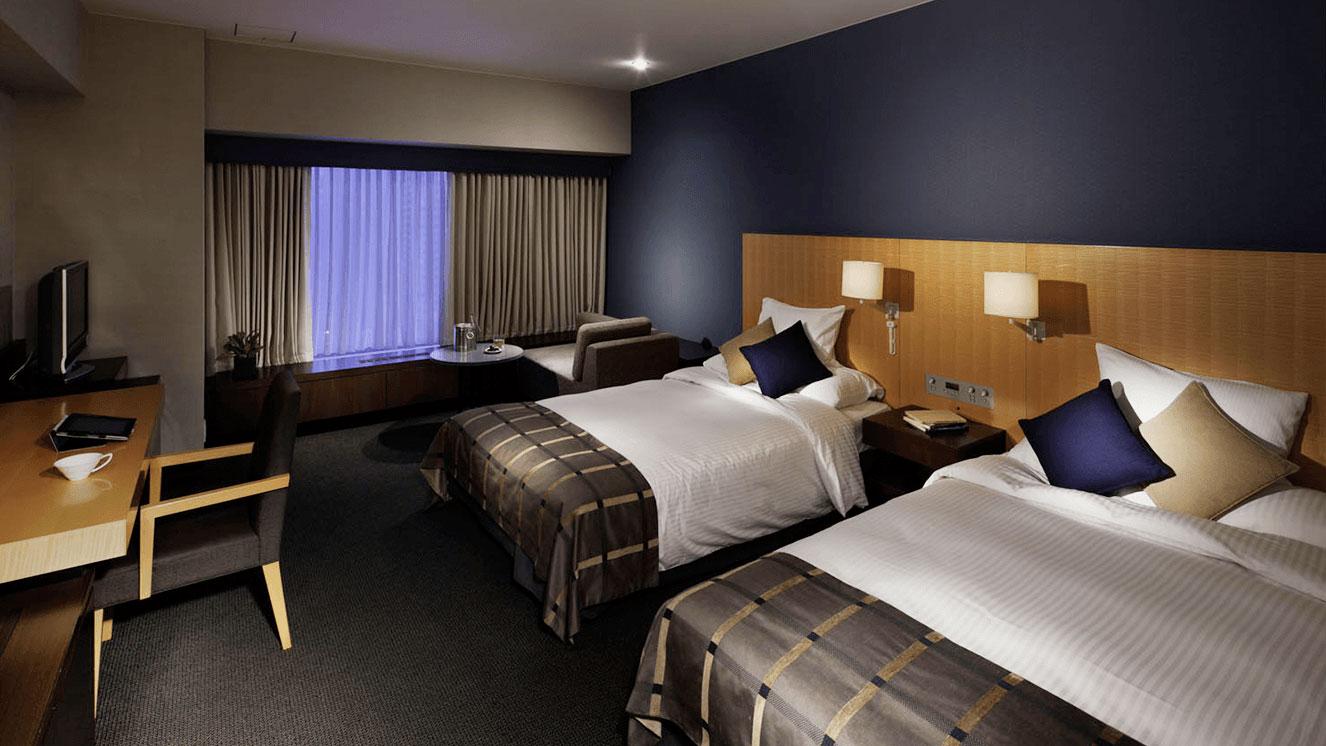 リーガロイヤルホテル(大阪)のスタイリッシュラグジュアリー スタンダードツイン