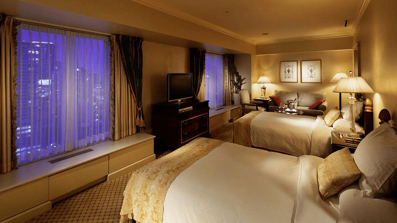 リーガロイヤルホテル(大阪)のヨーロピアンクラシック デラックスツイン
