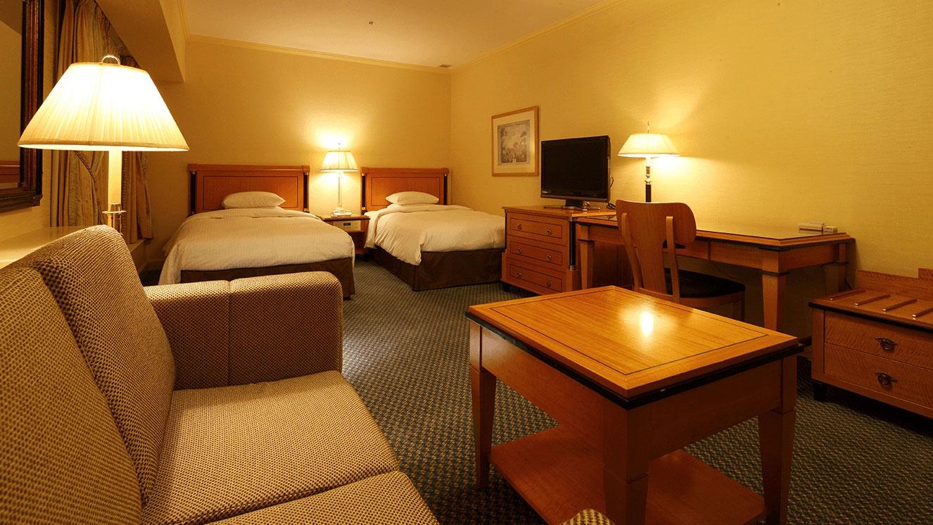リーガロイヤルホテル(大阪)のスーペリアフロア・デラックスツイン