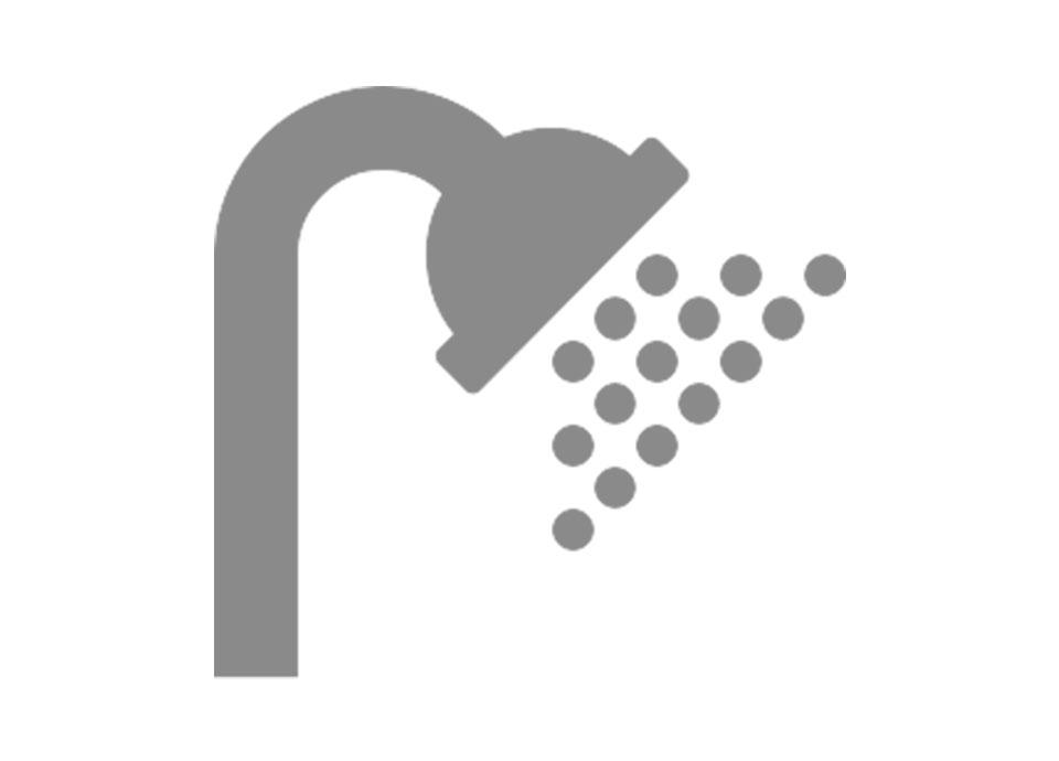 柔らかい浴び心地のエアインタイプシャワーヘッド