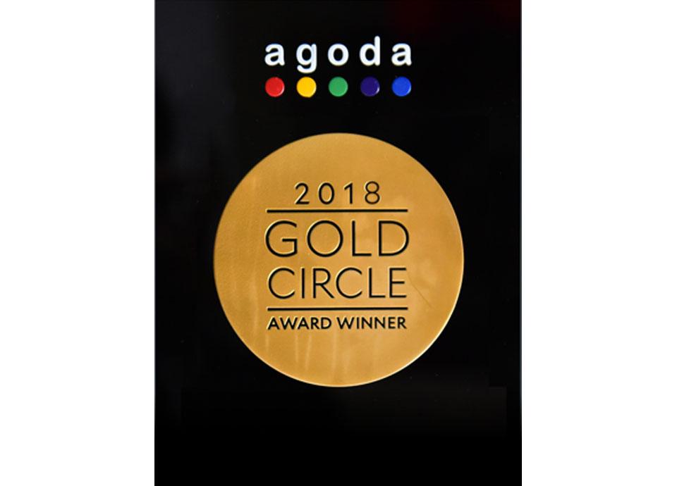 Agoda.com Gold Circle Awards受賞