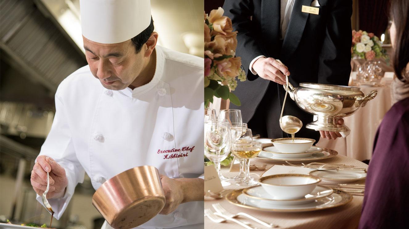 総料理長 塩入による料理教室&テーブルマナーセミナー|イベント|リーガロイヤルホテル東京