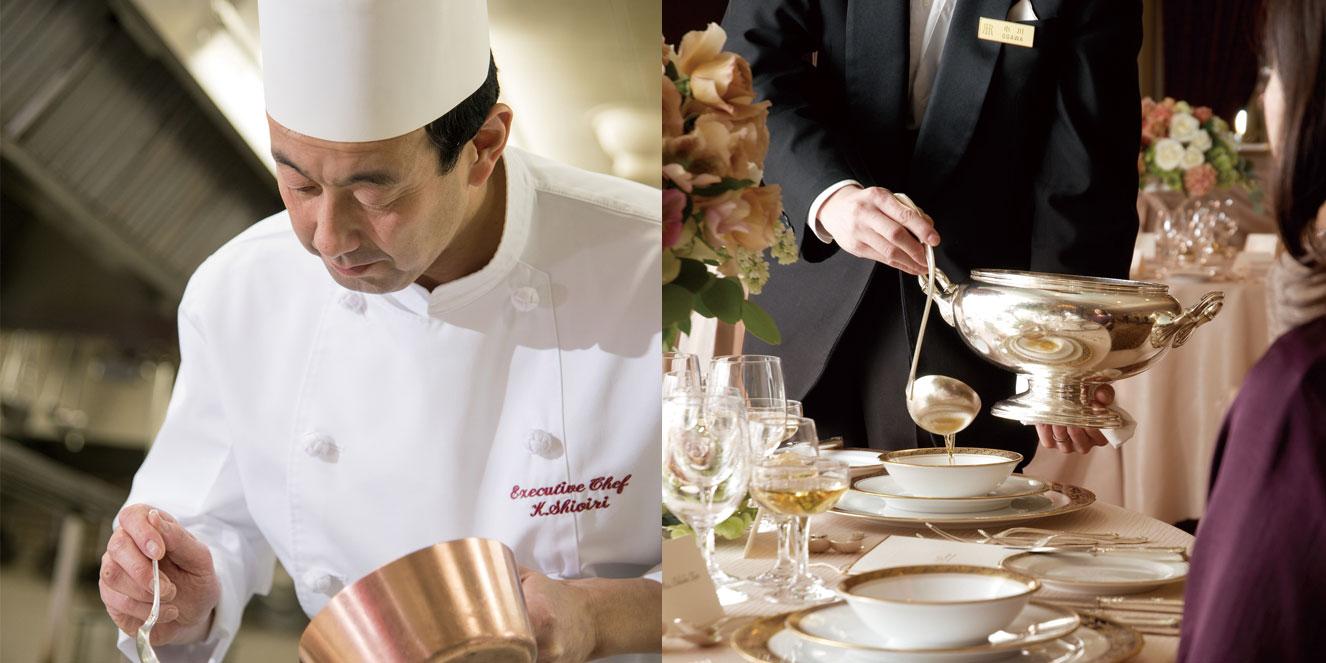 総料理長 塩入による料理教室&テーブルマナーセミナー