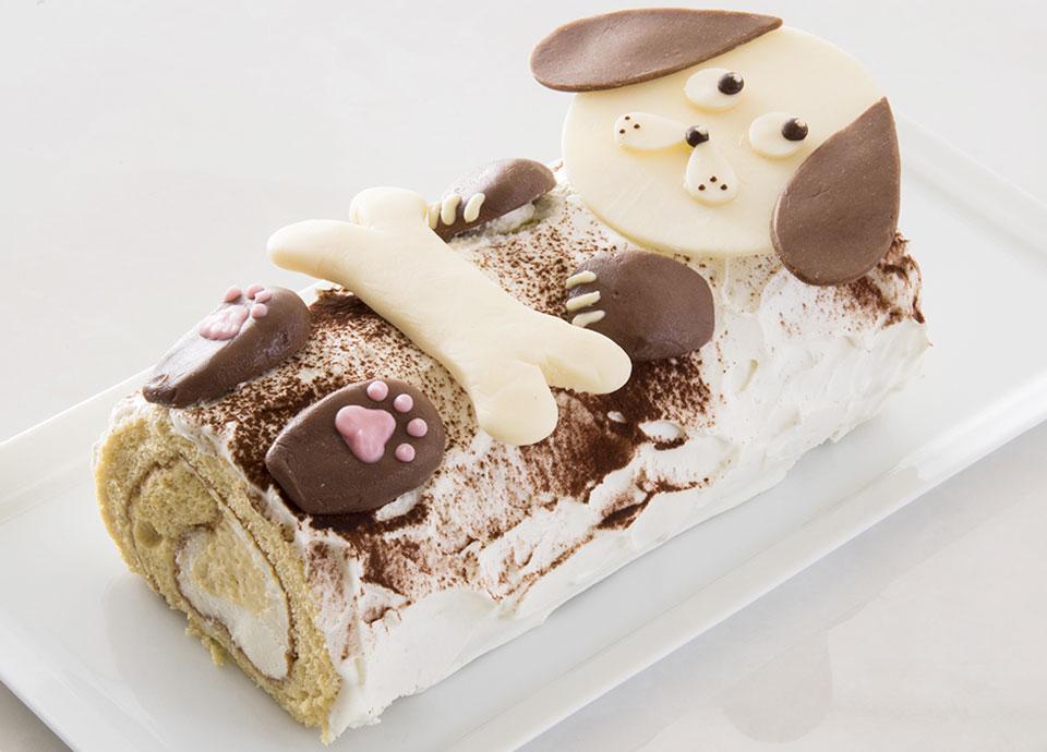「ワン!」ダフルロールケーキ