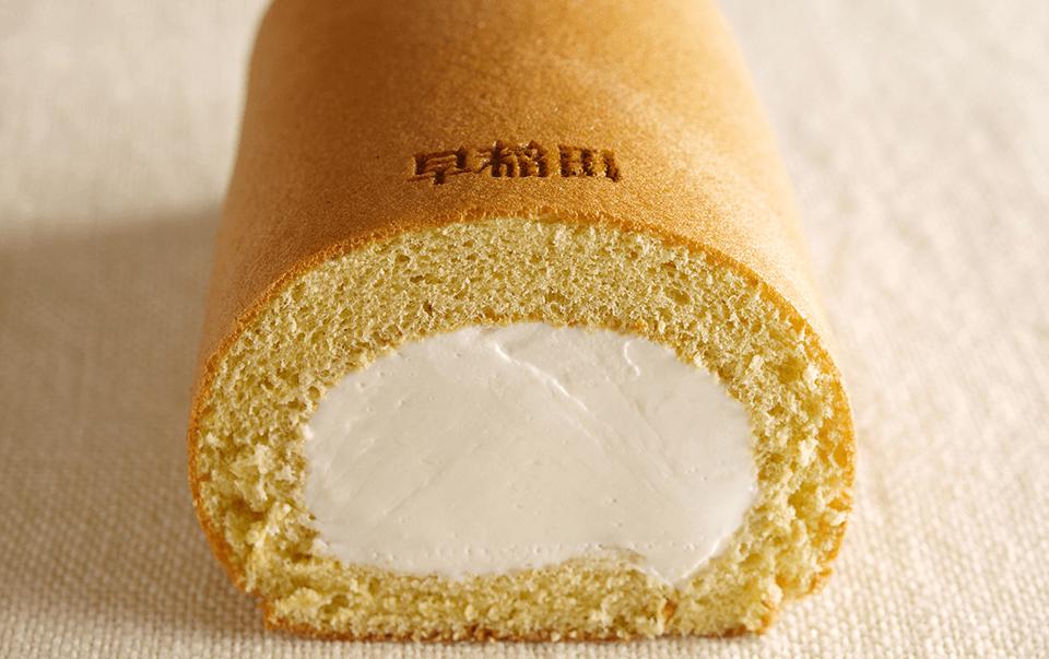 早稲田の杜のロールケーキ