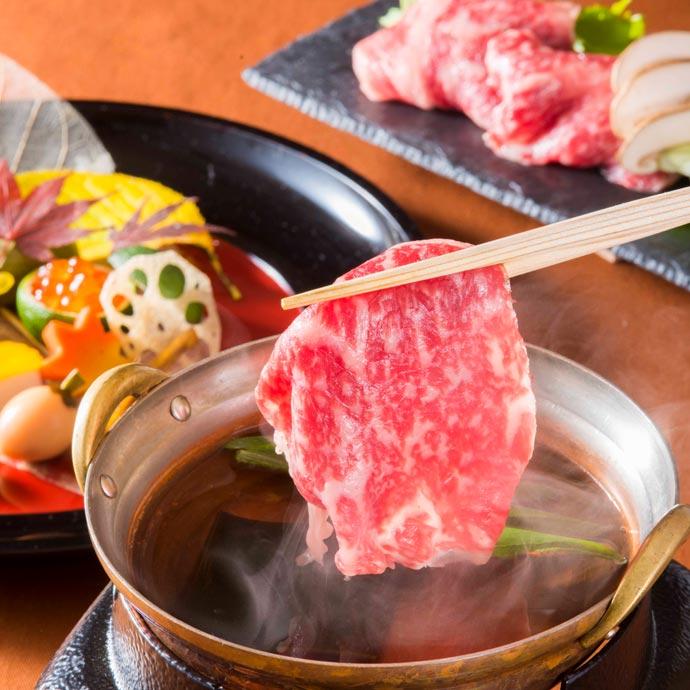 「清水(きよみず)」~和牛しゃぶ鍋を愉しむ~