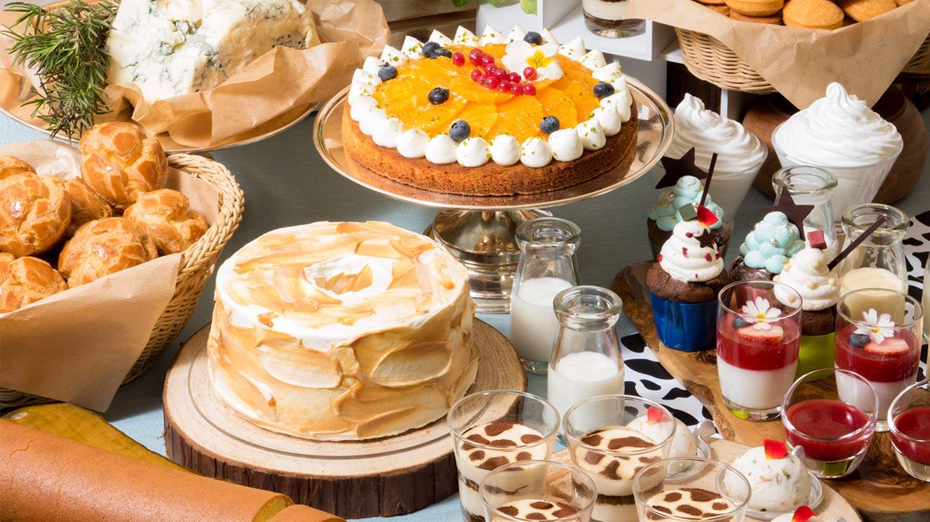Milk&Cheese リーガロイヤルホテル東京牧場OPEN!