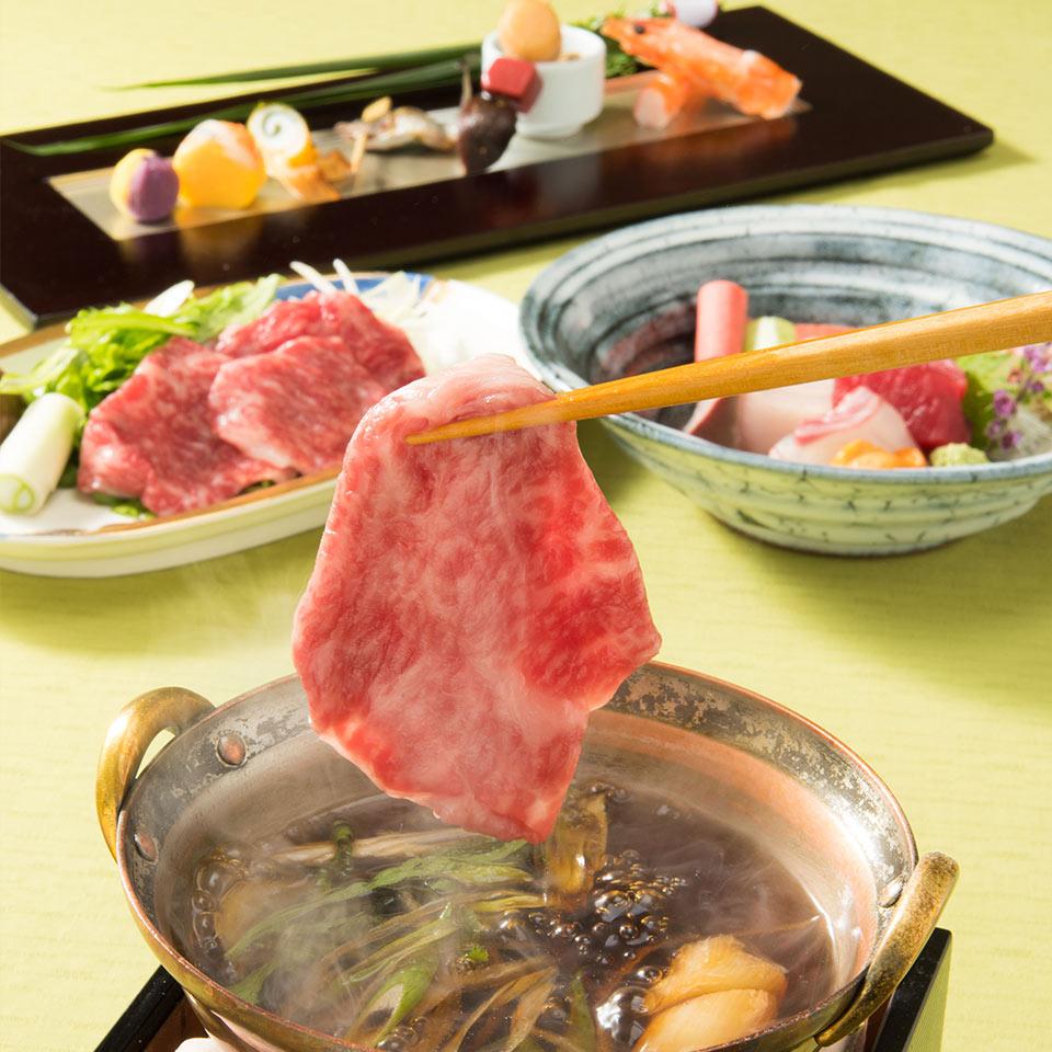 オープン1周年記念ディナー~黒毛和牛すき煮と初夏の味覚を味わう~