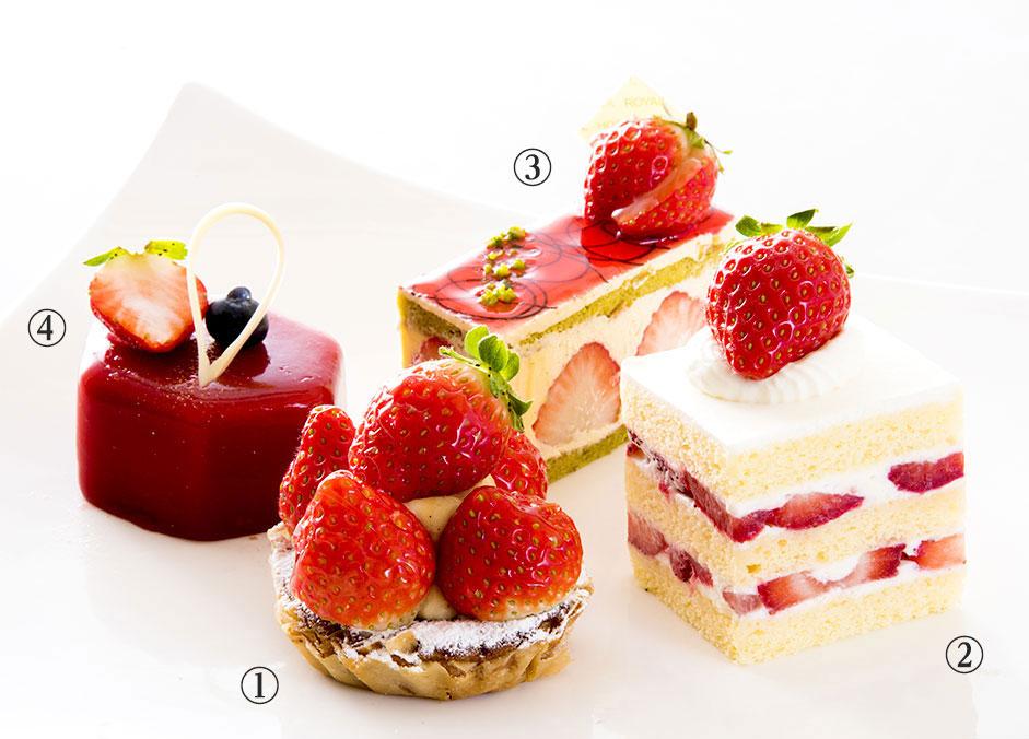 メリッサ ケーキ4種