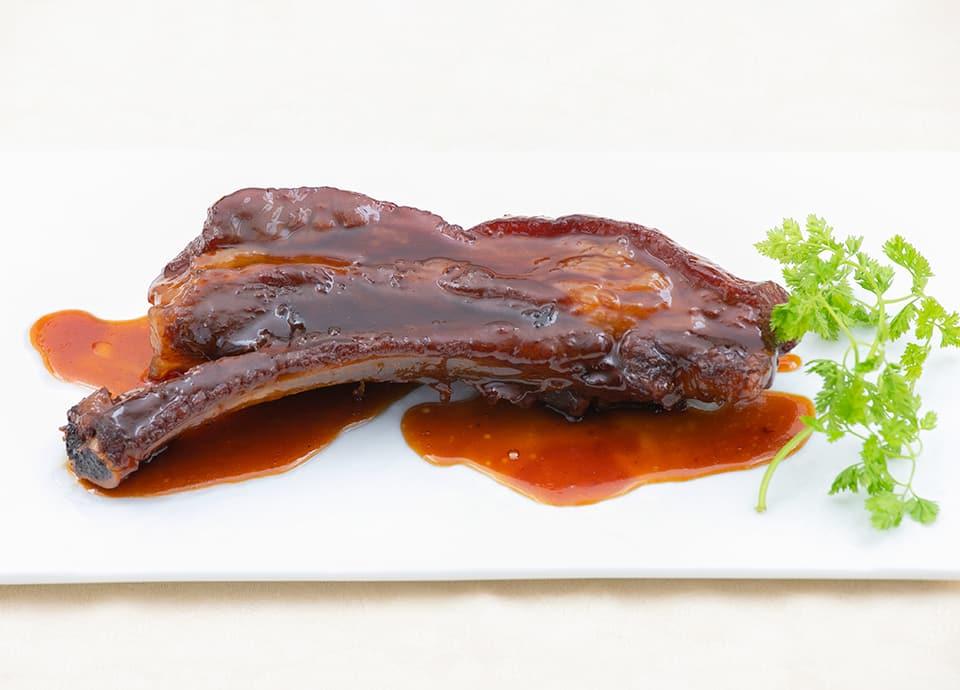 豚スペアリブの甘酢の写真