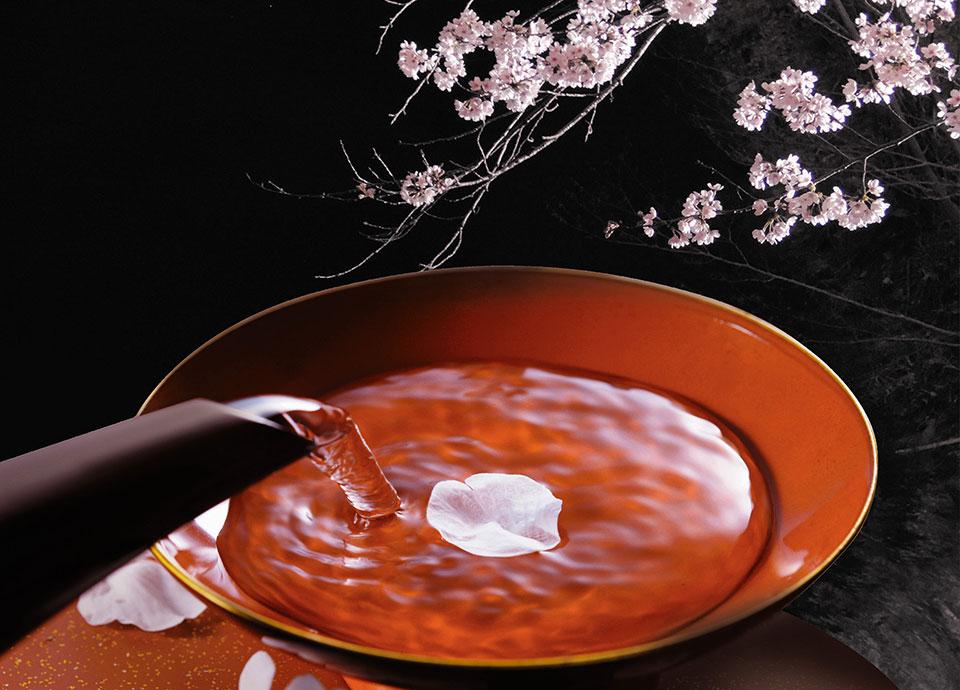 春の京料理と京都蔵元の日本酒を味わう夕べ「夜桜一献~京の和酒~」