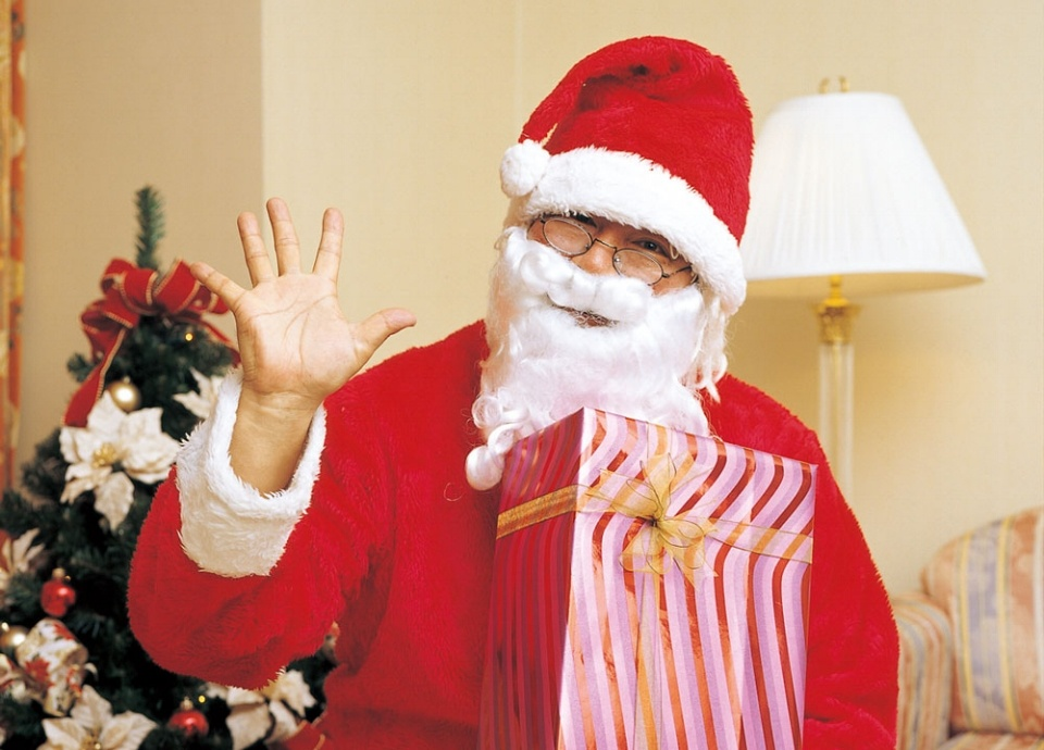 サンタがお部屋へ<br class='sp_only'>やってくる!<br>ファミリープラン<br class='sp_only'>「ハッピークリスマス」