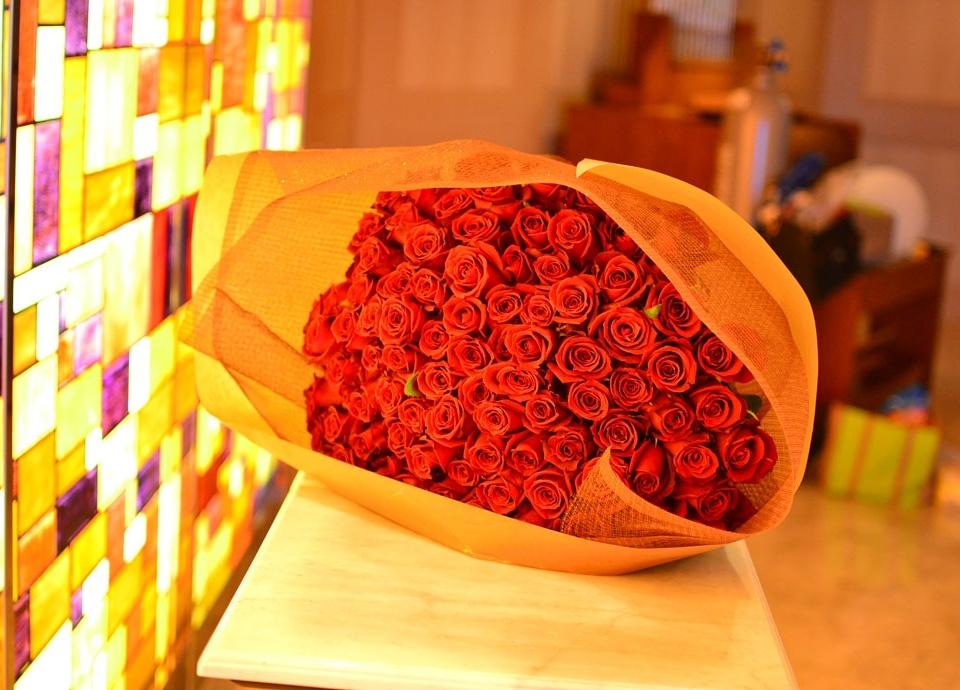 101本のバラの花束 イメージ