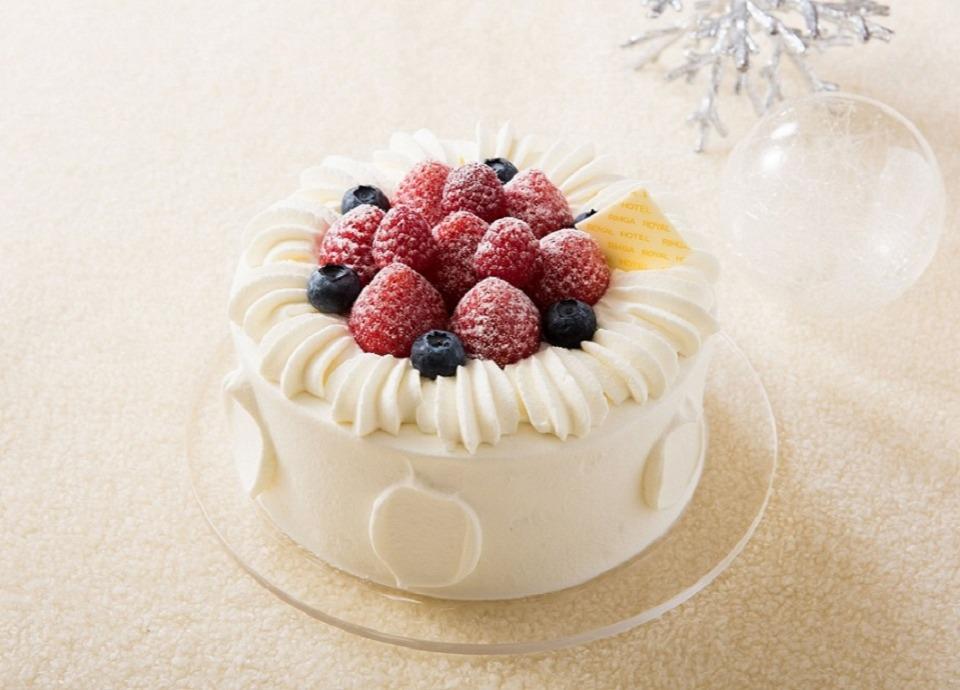 クリスマスケーキ<br class='sp_only'>&シャンパン付!<br>カップルプラン<br class='sp_only'>「スイートクリスマス」