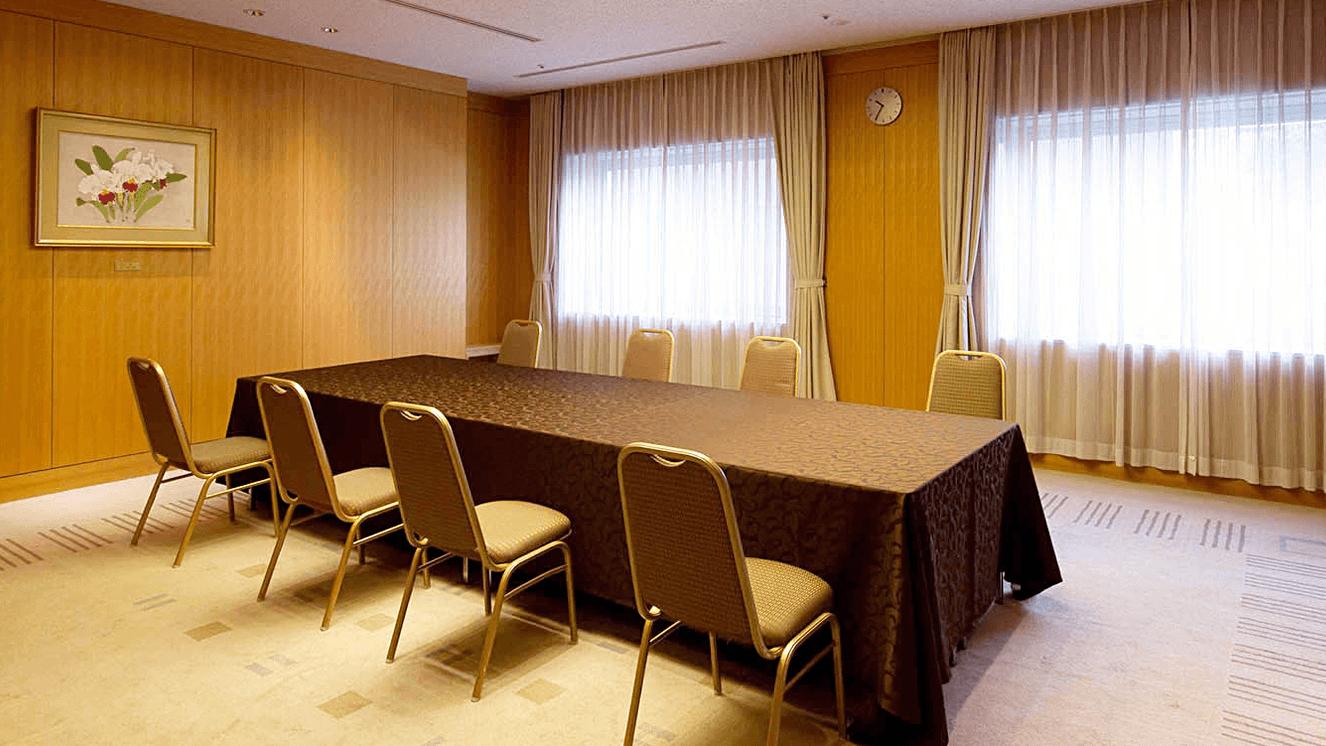 少人数の会議にご利用いただけます。