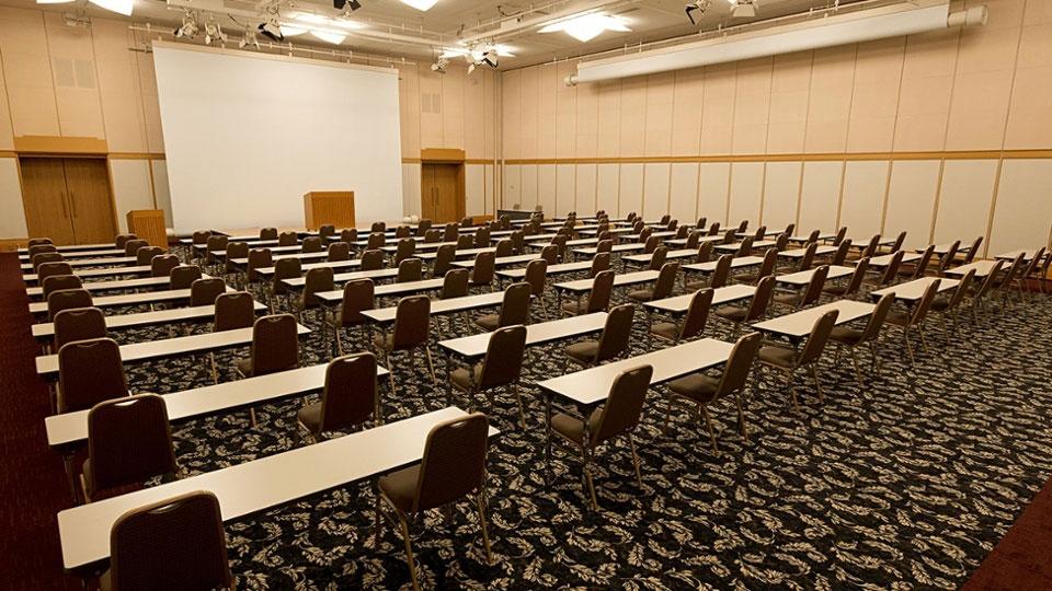 200名規模の会議、セミナー、研修に対応。