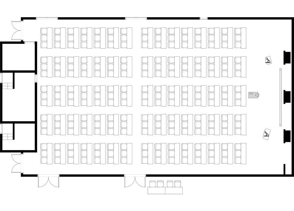 スクール 225席