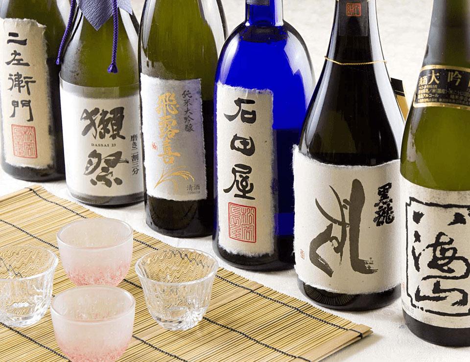 全国の日本酒・焼酎を取り揃えた<br>和食レストラン