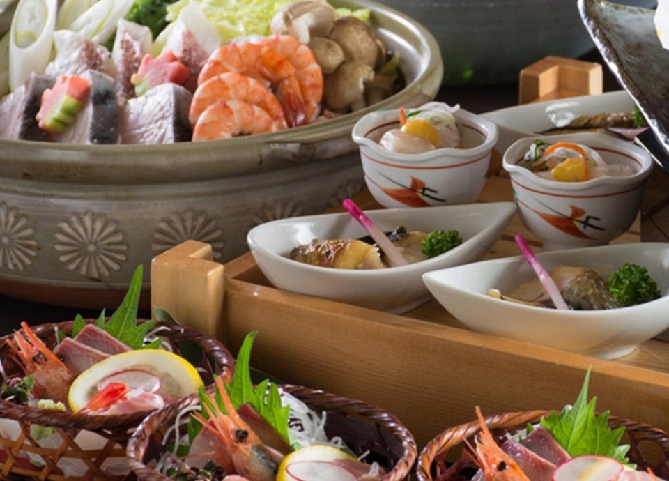 和食処 梅林「忘年会・新年会プラン」 忘年会・新年会の時期にぴったりの2時間飲み放題のセットプランです。