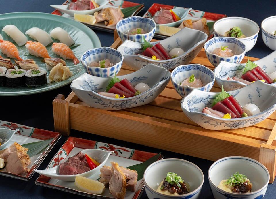 和食処 梅林「新年会プラン」 大皿料理と飲み放題がセットになったプラン