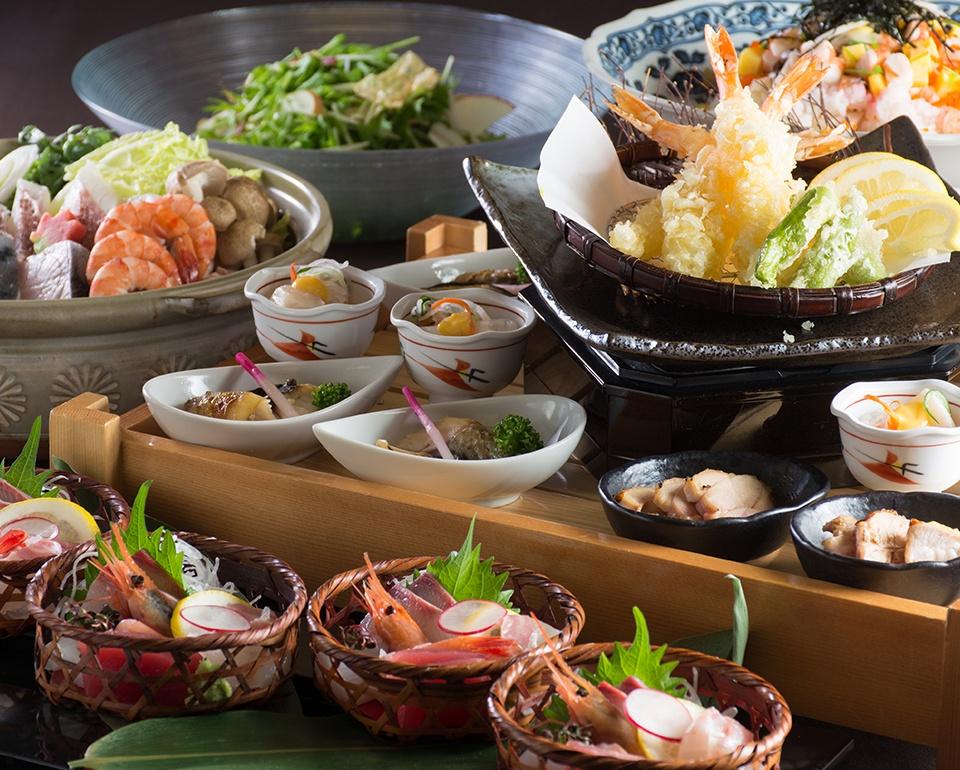 レストラン「忘年会・新年会プラン」