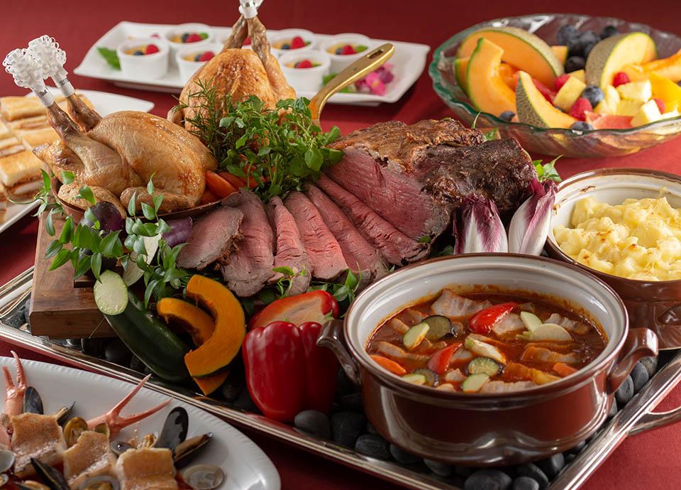 レストラン アイリス「忘年会・新年会プラン」