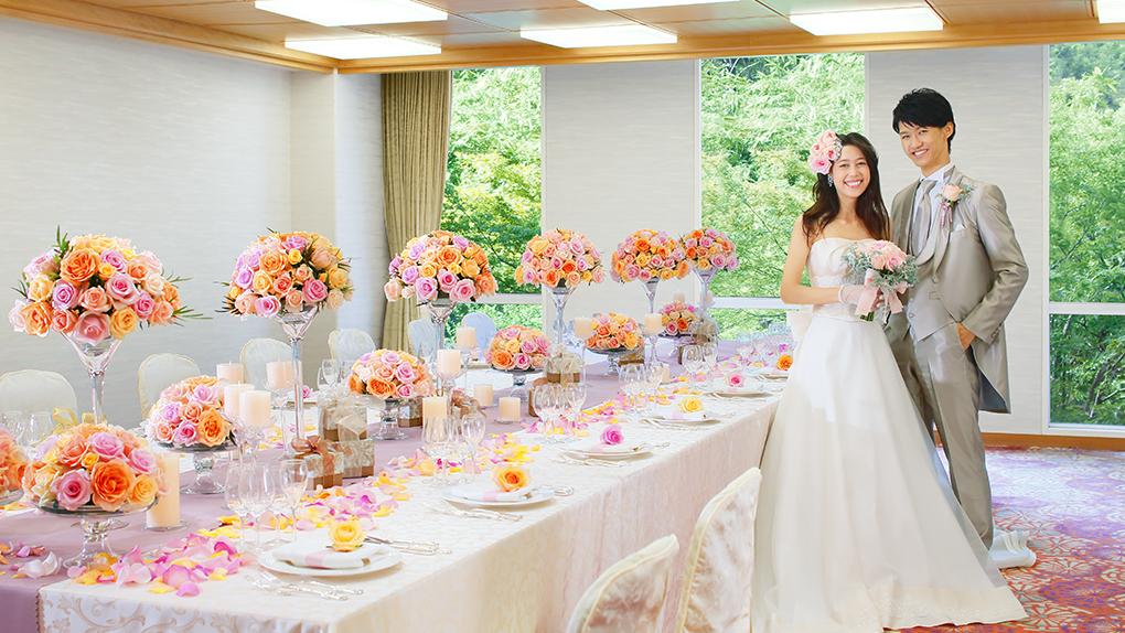 家族婚・少人数ウエディング(2019年3月末まで)【30名様¥971,298のお得な新プラン】